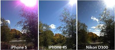 Manchas rochas nas fotos do iphone 5