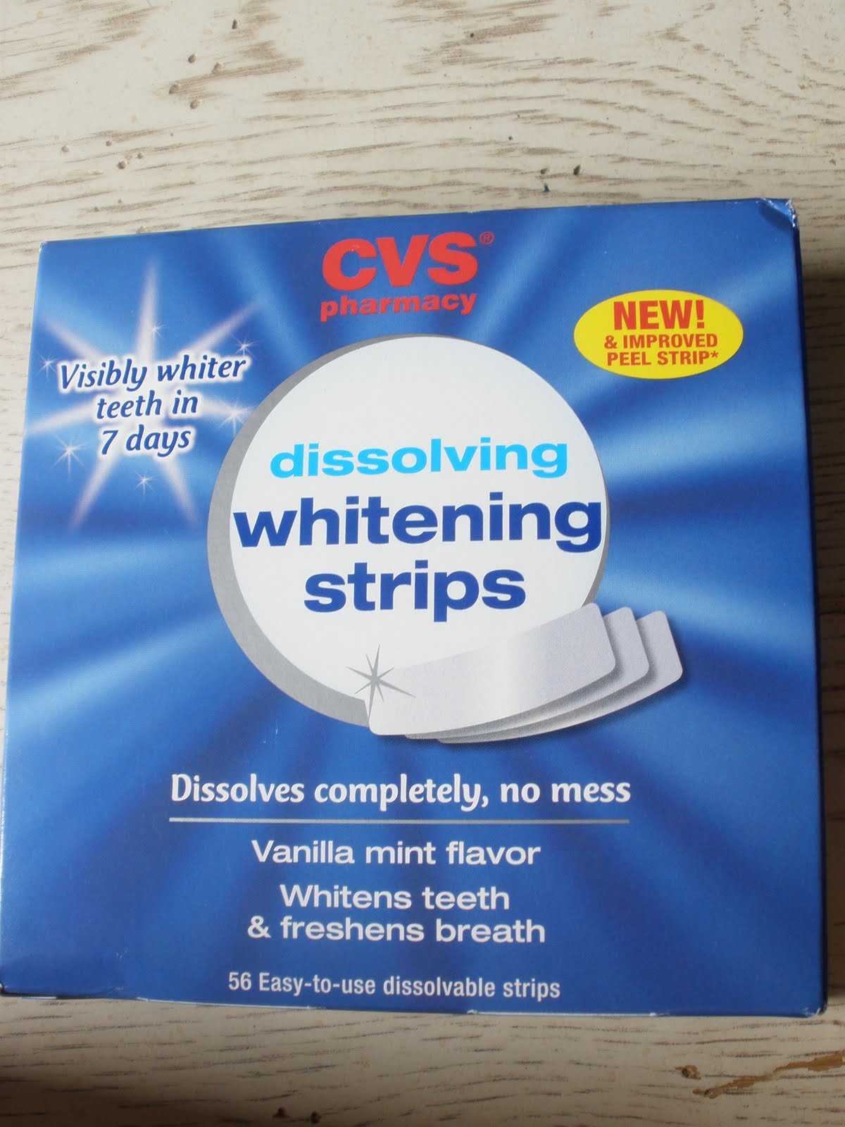 strips Cvs whitening