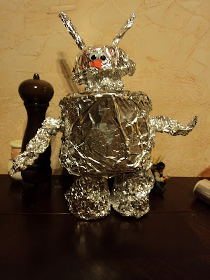 aluminum robot craft