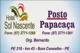 Hotel Sol Nascente e Posto Papacaça.