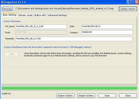 modecom freetab 9701 hd x1 прошивка