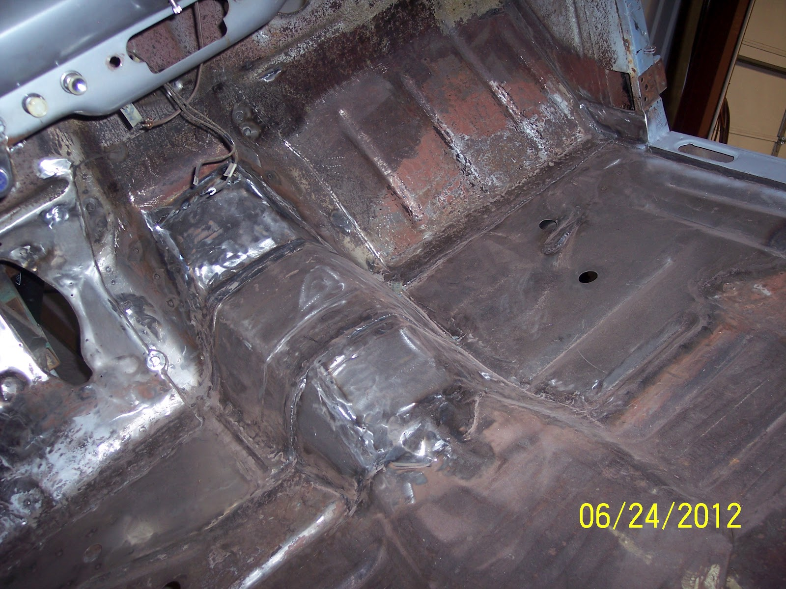 Ron 39 s hot rods for sale for 1950 ford floor pans