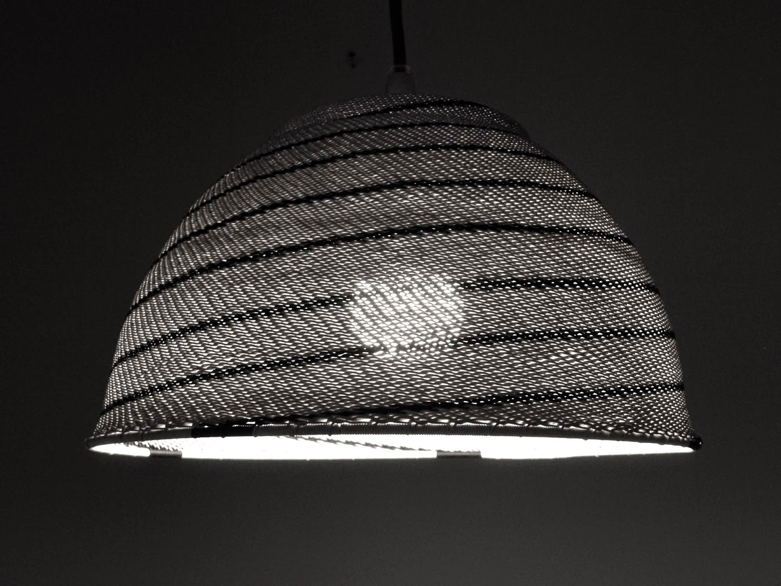 Telephone Wire Lamp Shade - WIRE Center •