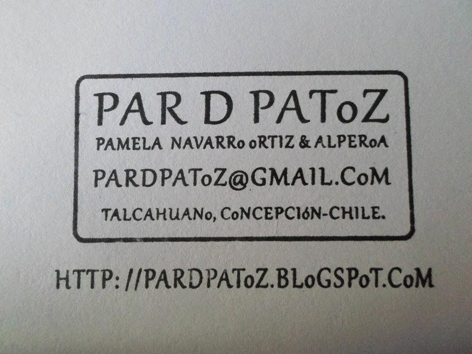 PAR D PAToZ. CHILE 2014.