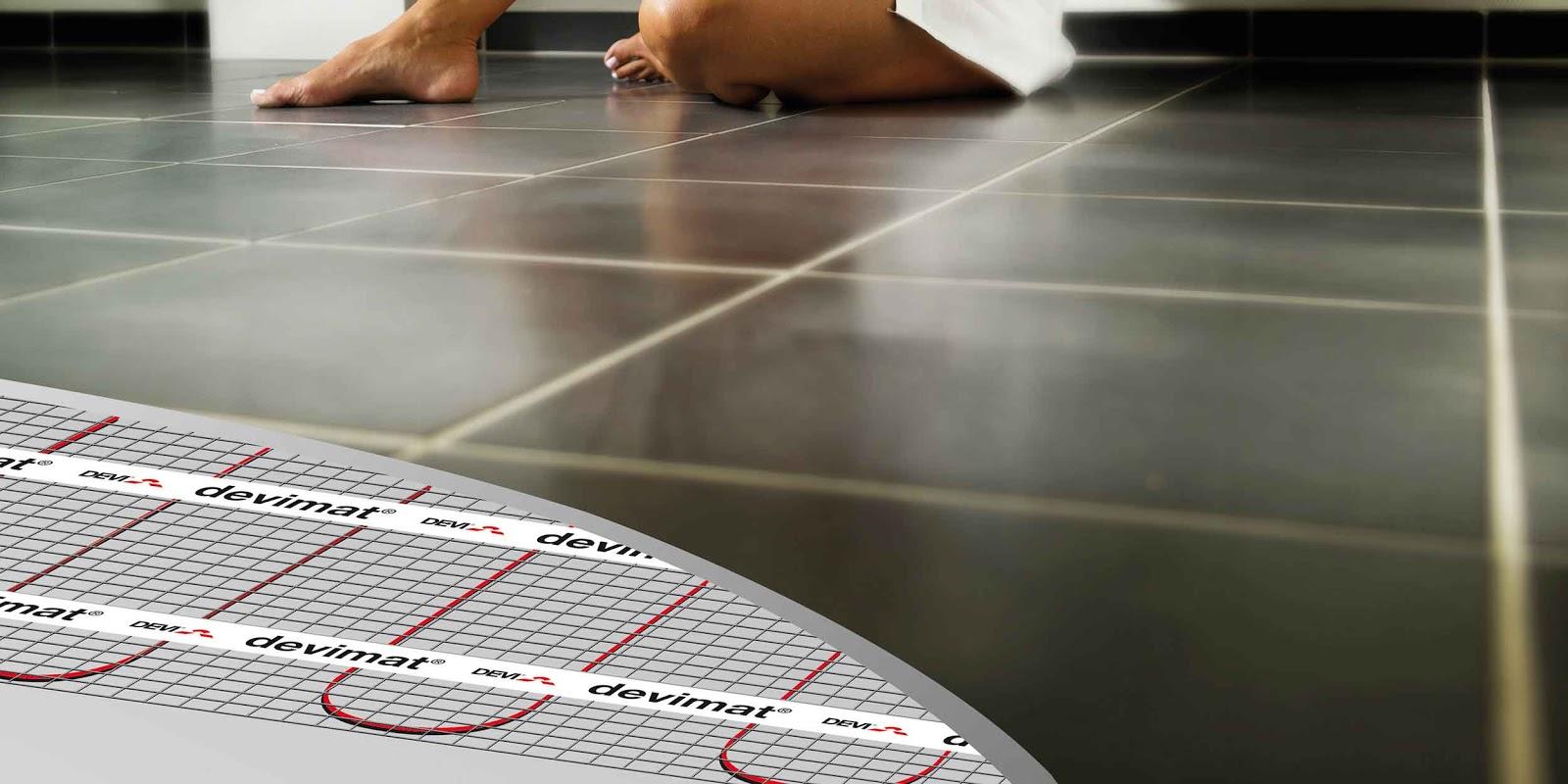 Elektrické podlahové vytápění - DEVI