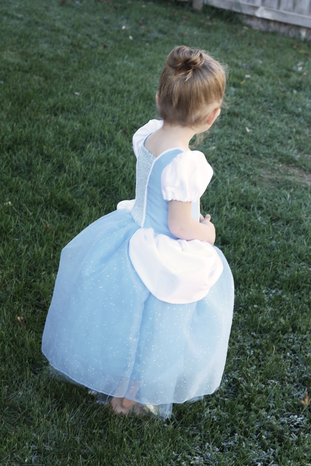 Cinderella princess dress costume pattern and tutorial homemade the shirred bodice does just that it adds so much flexibility and stretch that will play with her even grow with her and is sturdy yet elegant enough solutioingenieria Images