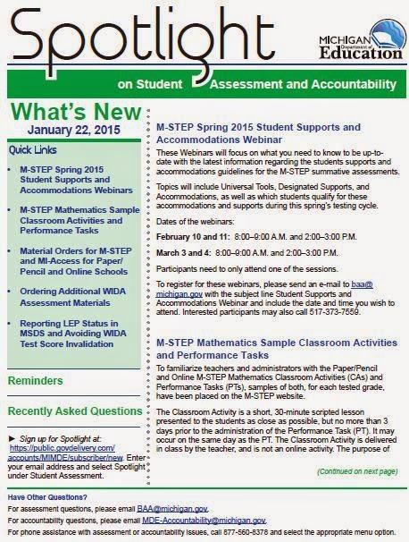 Minds on Mathematics: JUST RELEASED: M-STEP Mathematics Sample ...