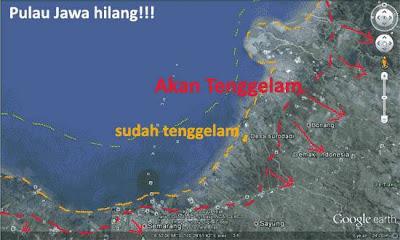 Misteri Mengerikan Tentang Akan Tenggelamnya Pulau Jawa