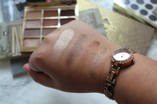 Stila Eyes Are The Window Palette in Soul Swatches