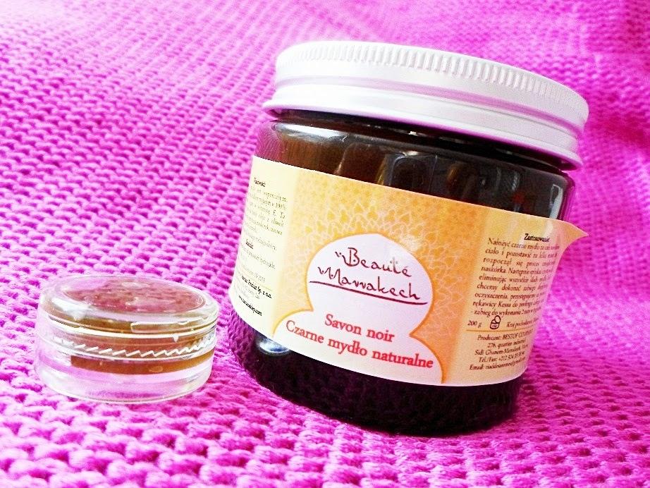 Recenzja: Naturalne czarne mydło od Maroko Sklep
