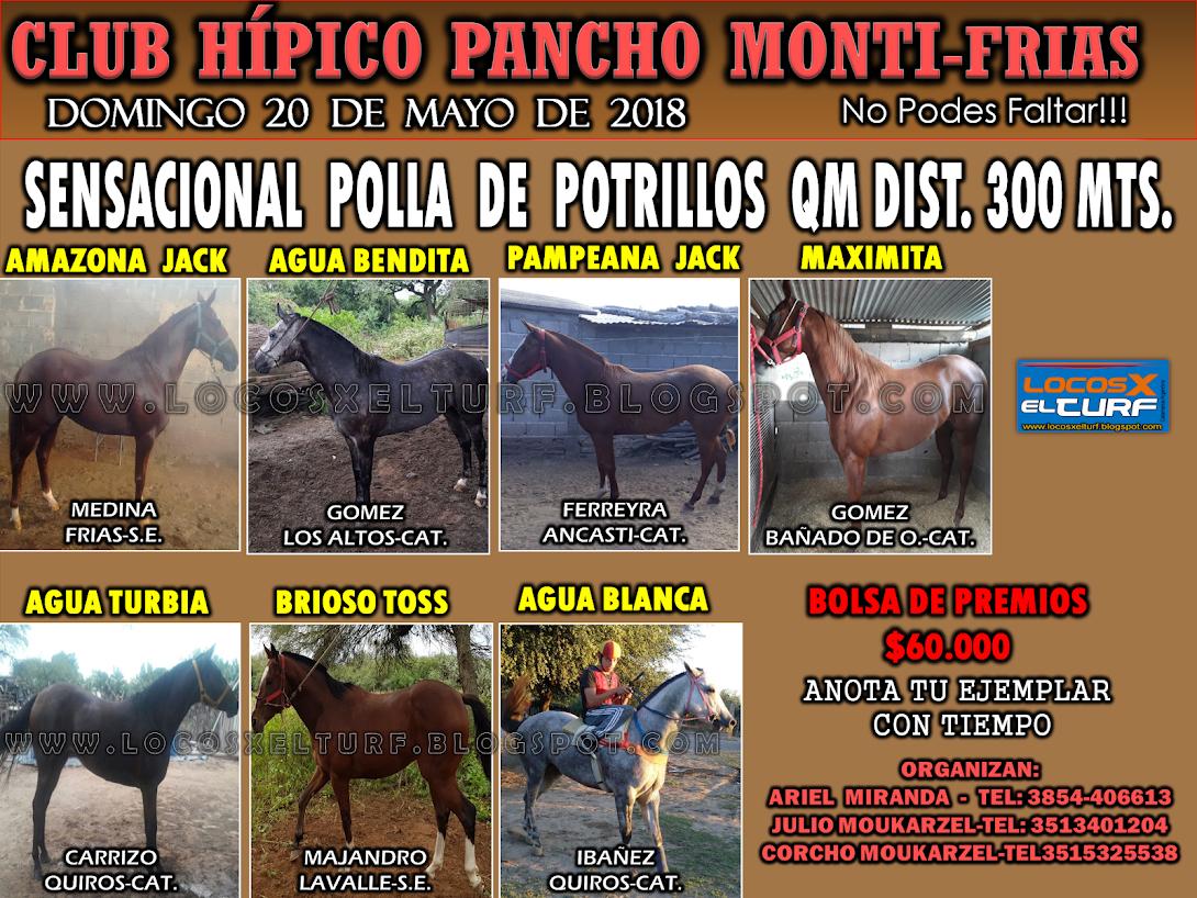 20-05-18- FRIAS -POLLA POTRILLOS