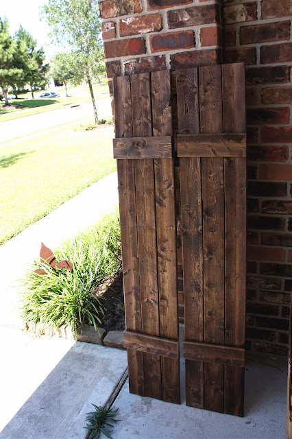 From My Front Porch To Yours Diy Rustic Shutters New