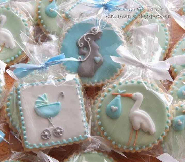 Sweet Treats By Sarah Baby Boy Shower Cookies