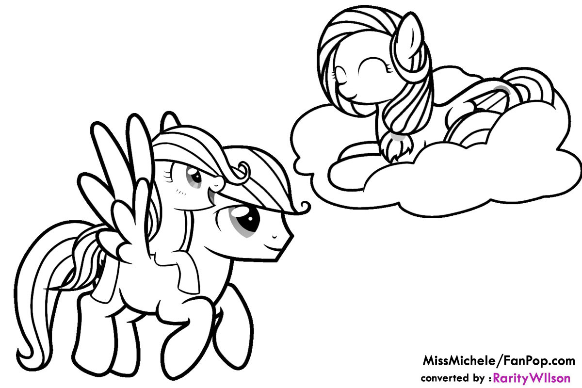 My Little Pony Friendship Is Magic Princess Luna Coloring Pages