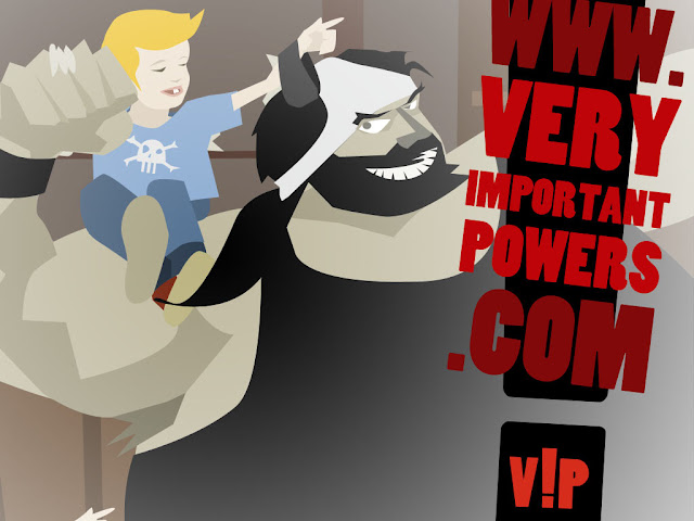 Comics Powers Very Important, Vessillo Nero mutande in testa