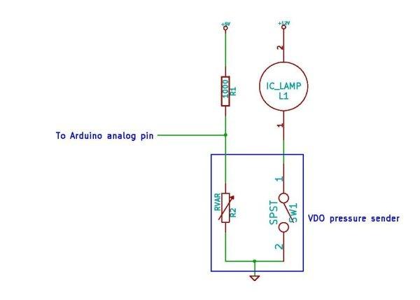 The Secret Tweaker Pad  Controlling Vdo Engine Pressure