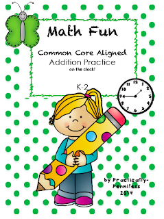 http://www.teacherspayteachers.com/Product/No-Prep-Addition-Against-the-Clock-K-2-1043636