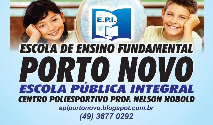 Escola de Ensino Fundamental PORTO NOVO
