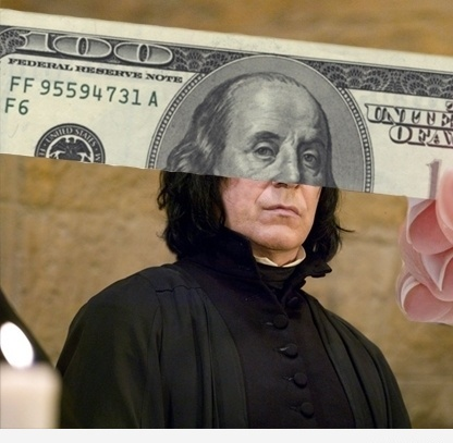 Funny Face of Severus Franklin