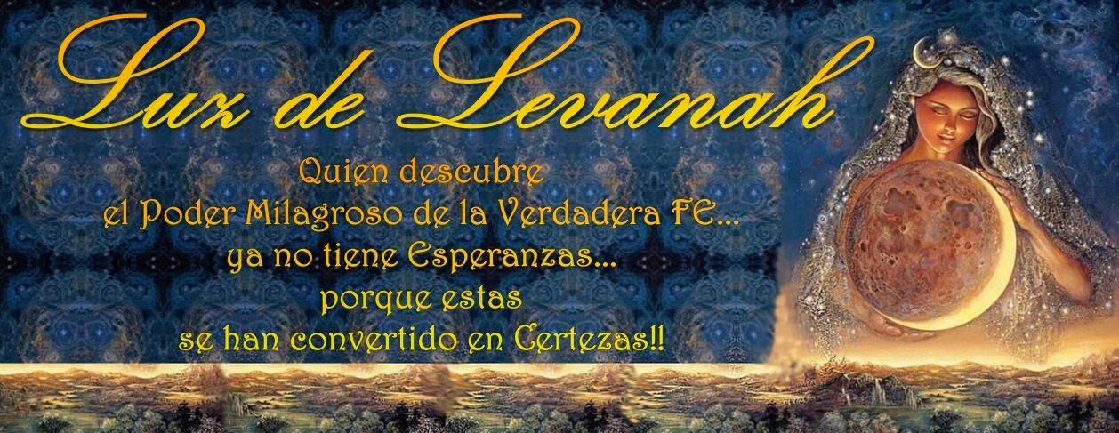 ♥ REIKI ♥ LUZ DE LEVANAH ♥