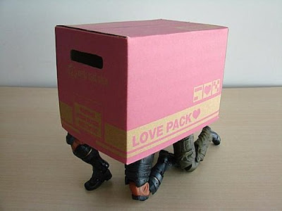 Play Arts Kai Metal Gear Solid Paper Box