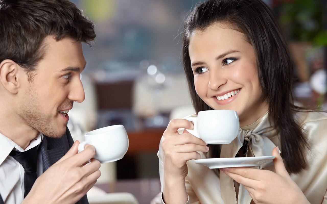 Пригласила друга на чай