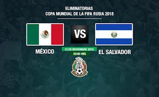México vs El Salvador / Eliminatorias CONCACAF (Cuarta Ronda)