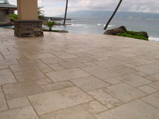 Travertine Cleaning, Maui