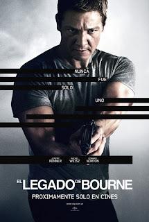 Poster de El legado de Bourne