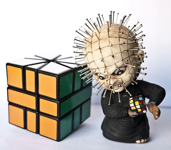 Square-1 Rubik hellraiser