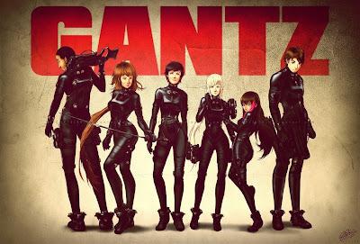 anime GANTZ