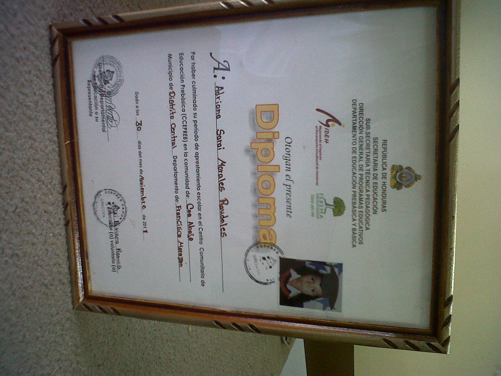 Decoraciones y Molduras Amador: Enmarcados de Diploma y Titulo con ...