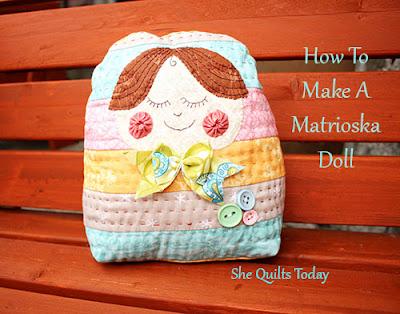 Como hacer una muñeca matrioska