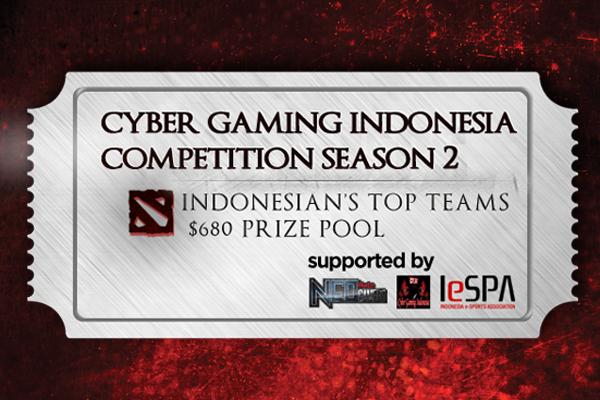 Tournament Dota 2 Indonesia Cyber Gaming Season 2 DotA 2