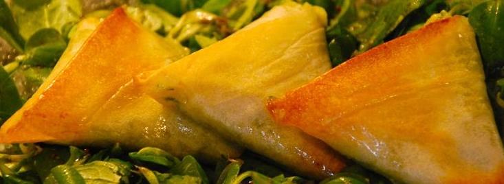 Lapikoenartean samosas con carne picada las empanadillas - Que hacer con la pasta filo ...