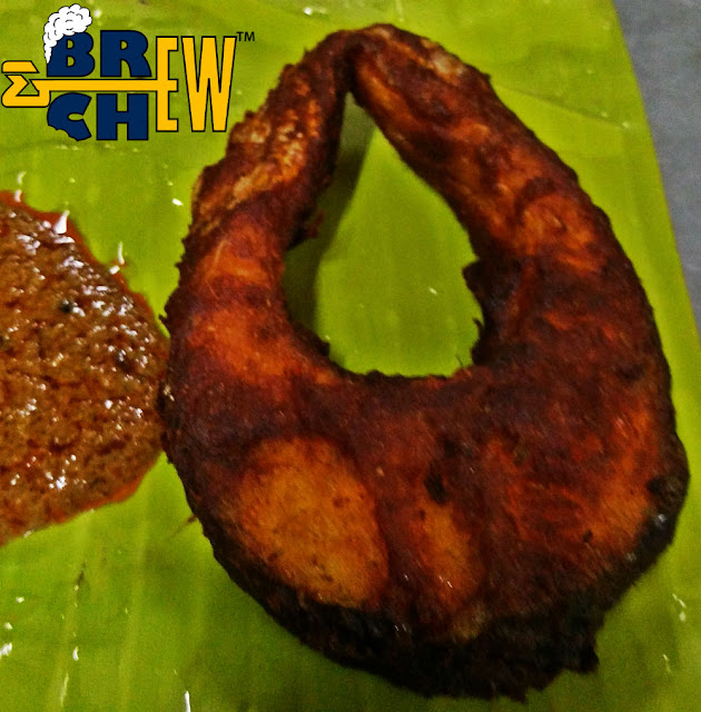 Reddamma Mess Tirupati Review, Fish Fry