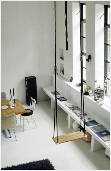 Columpio interior decorar tu casa es Columpio interior