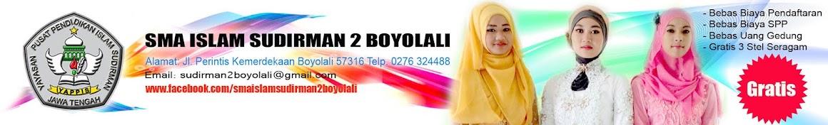 SMA ISLAM SUDIRMAN 2 BOYOLALI