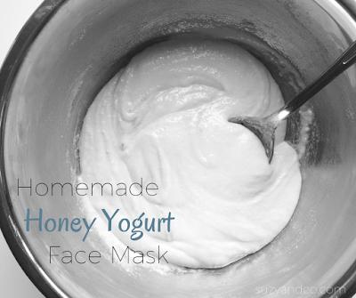 honey yogurt mask | suzyhomemaker.net