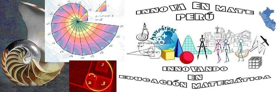 RYC_InnovaEnMatePerú, Sobre Educación Matemática y mucho más ...