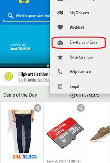 Earn 50rs per reffer flipkart unlimited trick