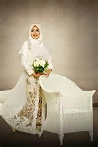 model baju pengantin muslimah terbaru