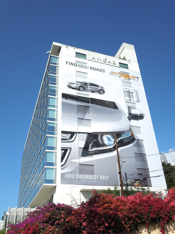 Giant 2013 Chevrolet Volt billboard