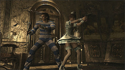 Resident Evil Origins Collection - costumi alternativi per Rebecca e Billy.