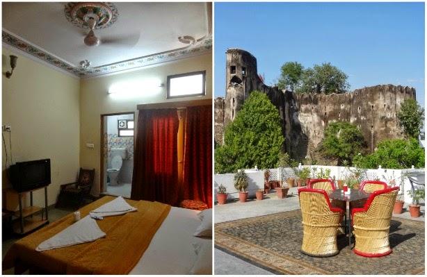 chitra katha hotel sikh jaipur inde chambre terrasse