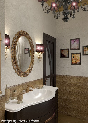 baño art deco
