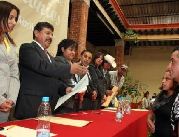 Acta De Matrimonio Simbolico : Espacio informativo de tlaxco tlaxcala cierra registro