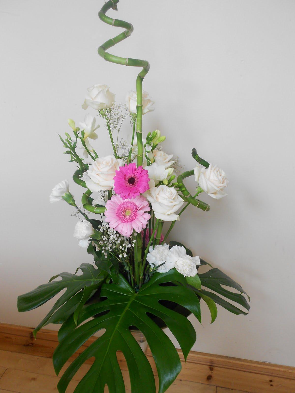 Wedding Flowers Cork Centerpieces With Fresh Flowers
