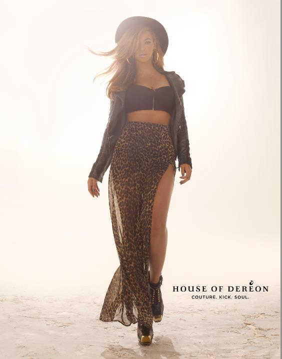 Beyoncé in Deréon Fall 2012