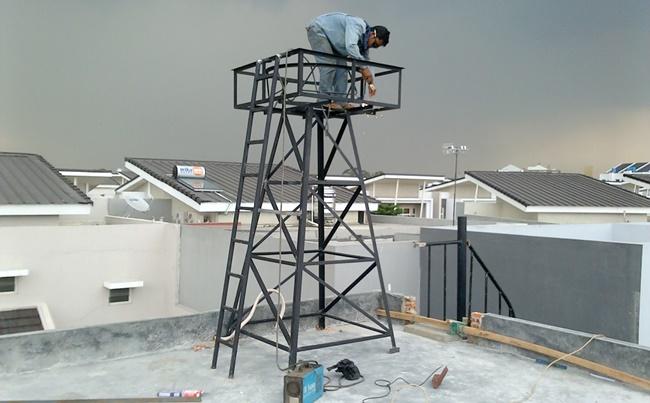 Menara toren air